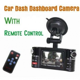 Dual Camera IR Vehicle Camcorder F20 Car Dashboard DVR Black Box