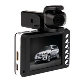 HD 1920x720P 2.8 Inch Display Car DVR with Motion Detection H.264 HDMI