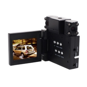HD 2560x1920 2.0 Inch Car DVR with 2 Cameras Night Vision Motion Detection TV