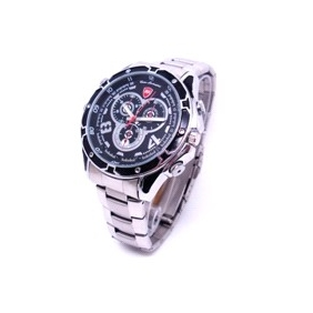 IR Night Vision Wristwatch Camera with 16GB Internal Memory Waterproof HD Camera