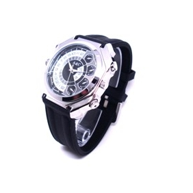 Waterproof IR Night Vision HD Wristwatch Camera with 16GB Internal Memory