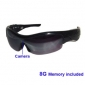 8G Sexy Spy Sunglasses Camera DVR with Digital Camera Voice Recorder Functions/Hidden Camera