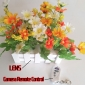 Professional Spy Cam Beautiful Decoration Artificial Flowers Hidden HD Pinhole Spy Camera DVR 32GB