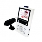 Baby Monitor 2.5 Inch CMOS Camera with Infra-red LED and Audio Monitoring