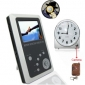 2.5 Inch TFT LCD 2.4GHz Wireless DVR Baby Monitor Kit with Remote Control Clock Camera Kit