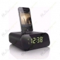 Charging Dock Alarm Clock Hidden HD Spy Camera DVR 1280X720 16GB