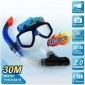 Diving Snorkle Underwater Scuba Mask Camera DVR with 1280*960 Definition Anti-fog Glass and 4GB Memory