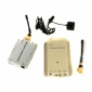 High Power 3000mw 1.2GHz Wireless Button Camera and Receiver Set