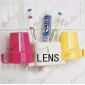 Multifunctional Bathroom Toothbrush Holder / Toothpaste Holder / Tumbler Holder Hidden HD 720P Spy Camera DVR