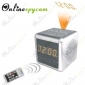 CCD 480 TVL HR DVR AM/FM Alarm Clock Radio Covert Camera with 8GB SD Card