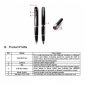 images/v/SPY Camera Pen 720P HD Camcorder Hidden Video Pen Camera HD Spy Camera 4GB 2.jpg