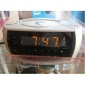 Secret Surveillance Spy Camera,Alarm Clock Radio Hiden HD Spy Camera DVR 16GB