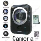 Spy CD/Radio Hidden Waterproof Bathroom Spy Camera 16GB 720P HD