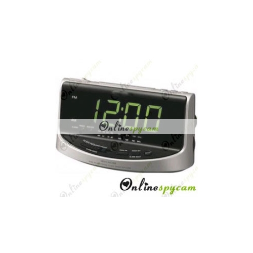 hidden spy hd camera dvr 16gb 1280x720 alarm clock radio. Black Bedroom Furniture Sets. Home Design Ideas
