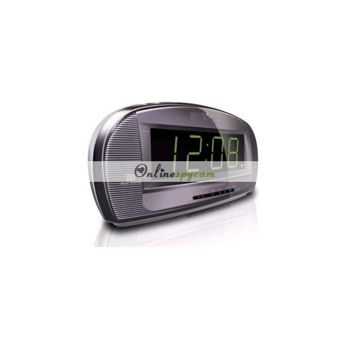 spy alarm clock radio hd bedroom spy camera dvr 16gb 1280x720 motion