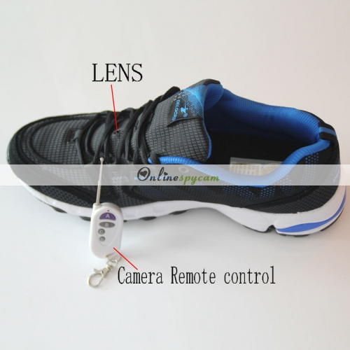 Shoes Spy Camera With Remote Control HD Spy Camera In ...