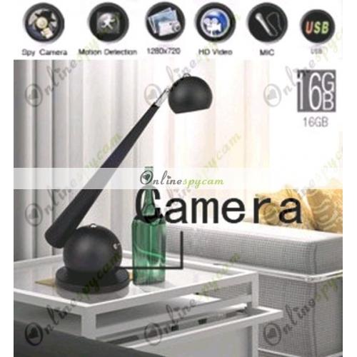 spy fashion lamp hidden hd bedroom spy camera dvr 16gb motion